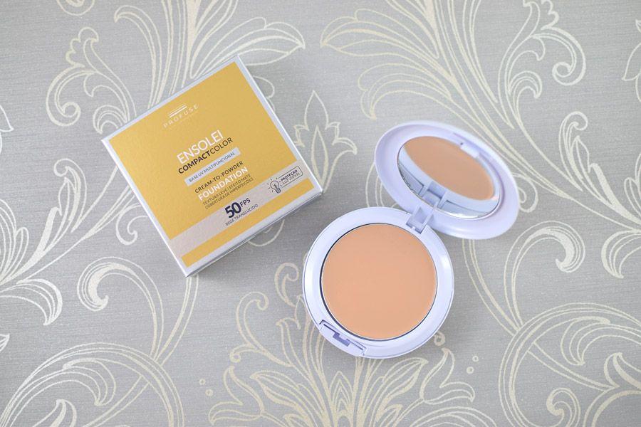Resenha Profuse Ensolei Compact Color Fps 50 Produtos De Maquiagem