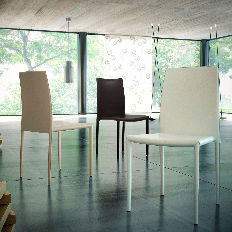 Modloft Varick Eggshell Dining Chair Mlmd605wht
