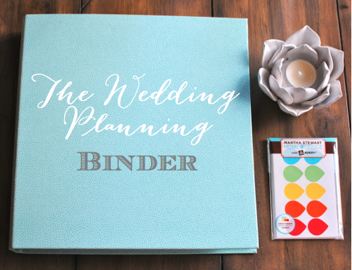 wedding planning binder categories claire kurtz is the well. teal ...