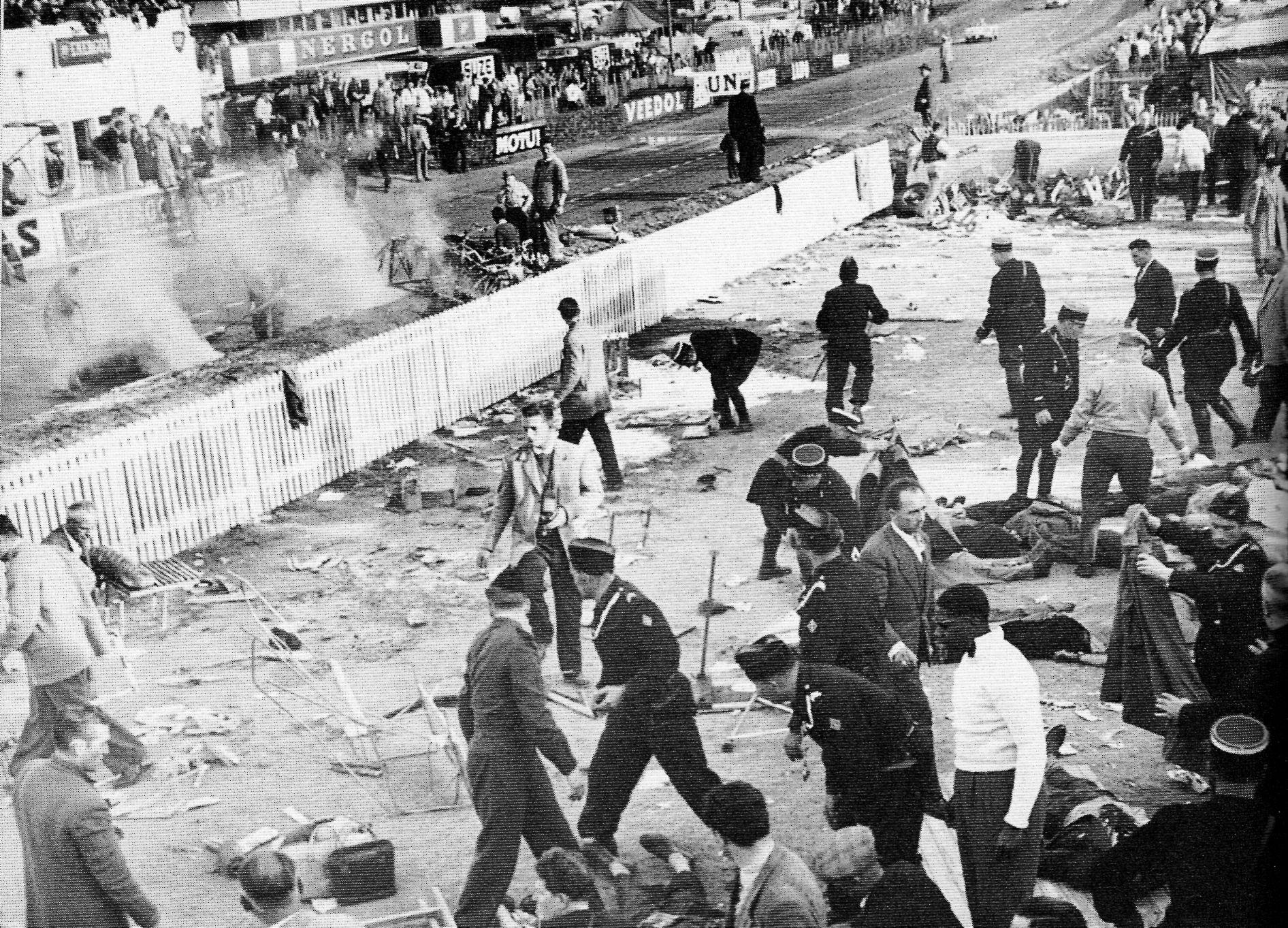 L'accident de 1955 sur le circuit du Mans - Cultea