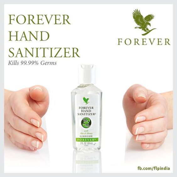 Forever Hand Sanitizer With Aloe Honey Is Designed To Kill