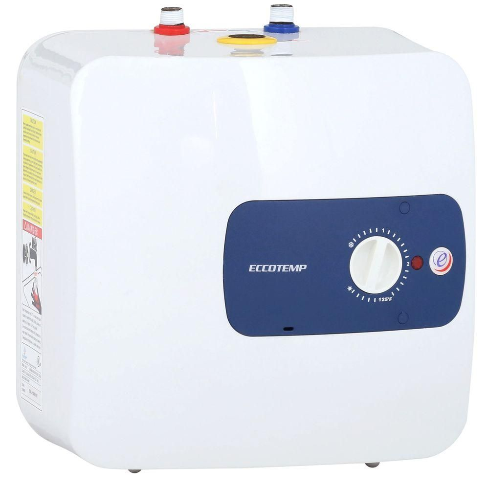 Eccotemp Em 4 0 Point Of Use 4 0 Gal 1440 Watts 110 120v Electric Mini Tank Water Heater Em 4 0 Water Heater Water Pipes Heater