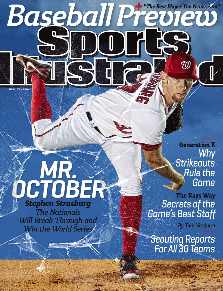 Go nationals!!! Sports illustrated covers, Sports