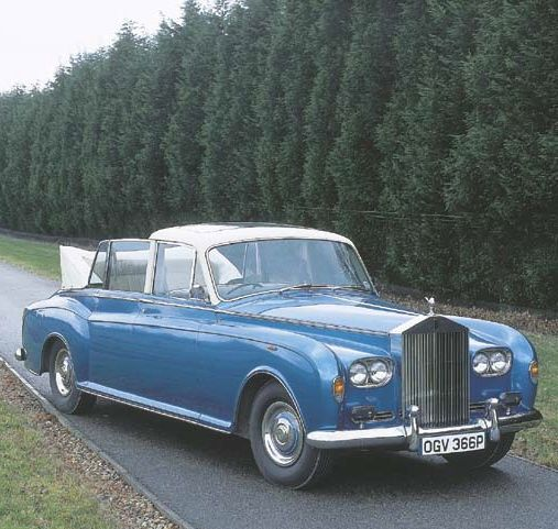 Bentley State Limousine: 1975 Special RR Landaulette By Mulliner Park Ward (chassis