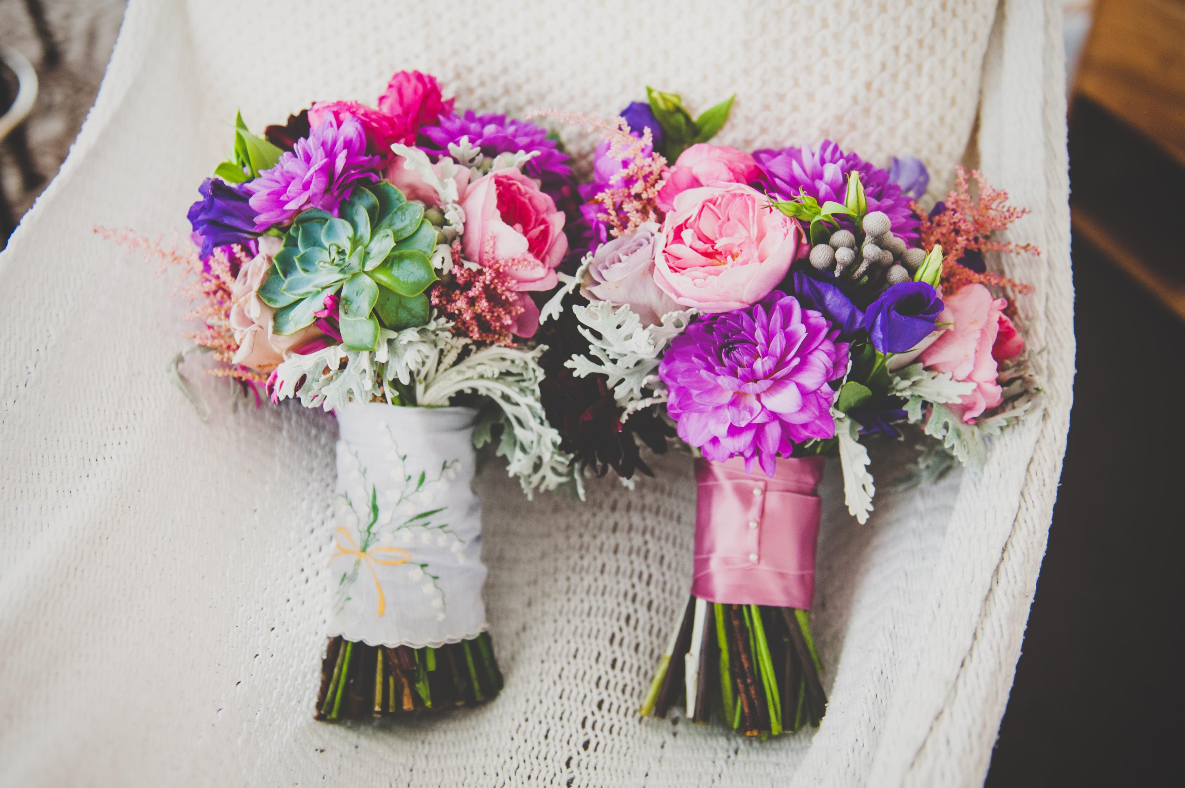 Flowers by Violet and Verde | Photo by Photo Philosophies | Venue iCi Brooklyn