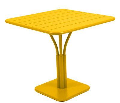Luxembourg Quadratischer Tisch Einbeiniger Tisch Fur 2 Bis 4