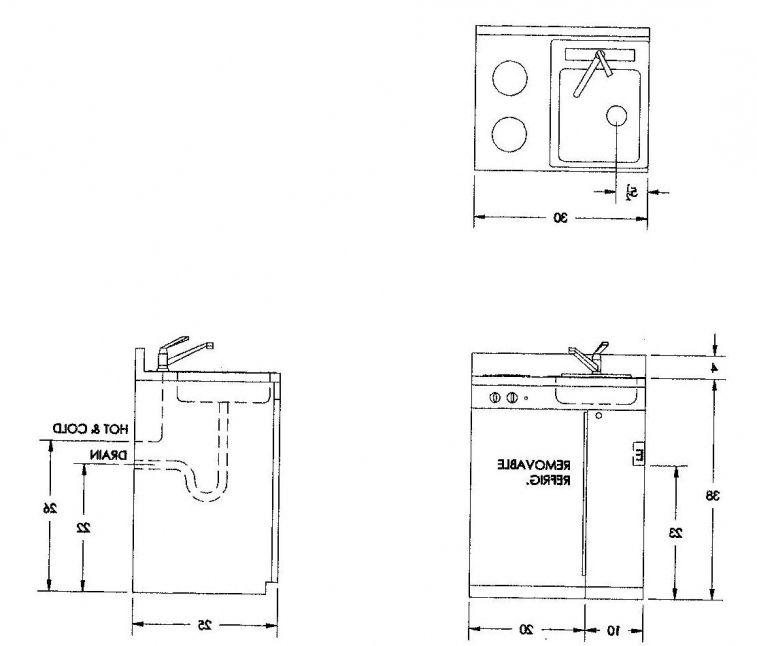 ada kitchen sink measurements