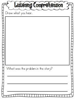 Printables Listening Comprehension Worksheets 1000 images about listening skills on pinterest teaching brain based learning and games