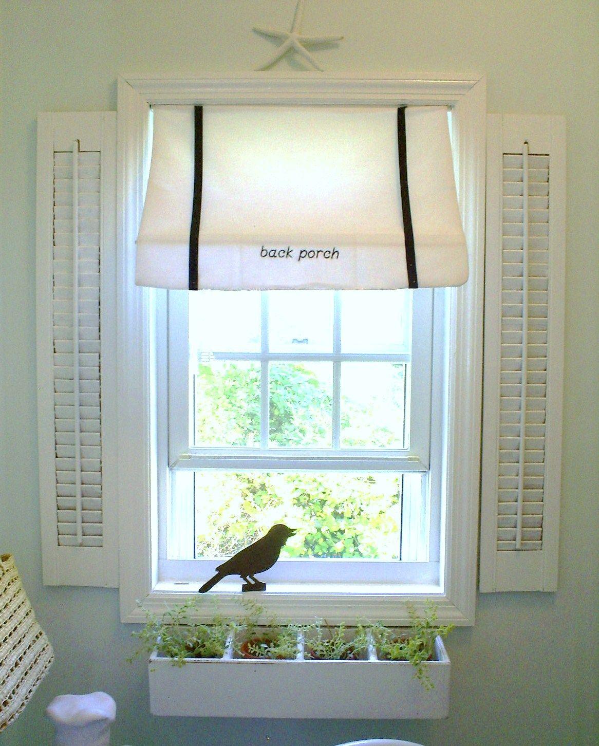 Window Awning And Window Box