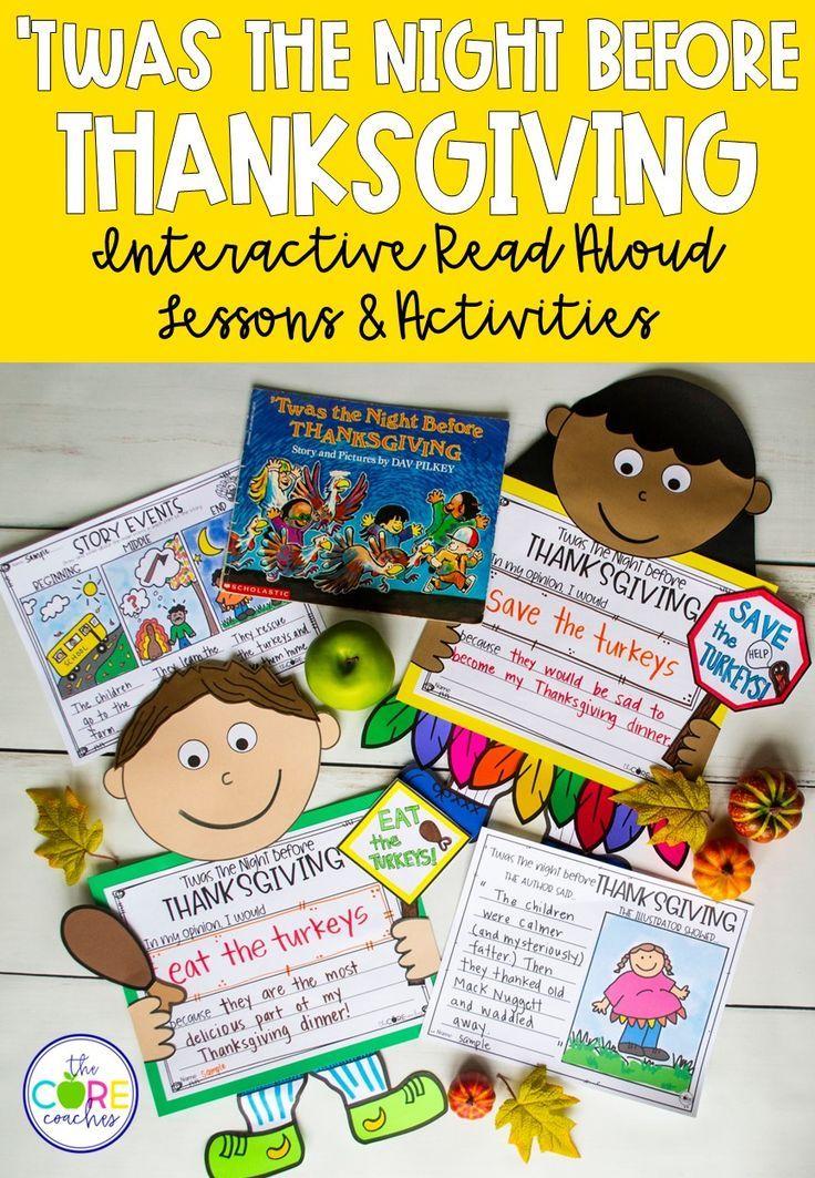 K-1 Read-Alouds for November | Read aloud, Interactive ...