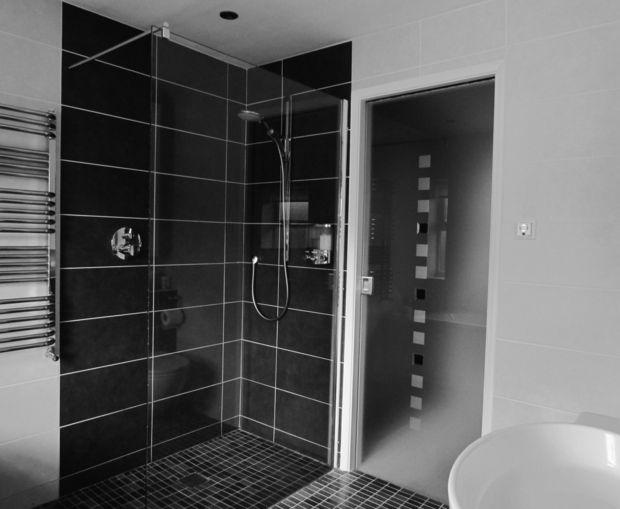 Carrelage douche italienne - idées décoration moderne Best - Salle De Bain Moderne Douche Italienne