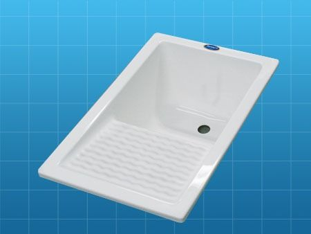 Moderno lavadero vertical resina acrilica cuarto lavado - Pilas lavadero pequenas ...