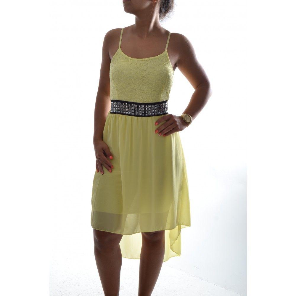 7b521573827a Dámske pásikavé šaty bez ramienok - bielo-modré