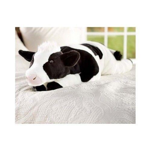 Cow Body Pillow Big Stuffed Animals Cow Print Plush Jumbo Large Giant Toy  Gift 57911a8979