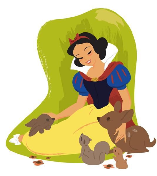 "Fairest in the Land (Snow White) ""The Art of the Disney Princess"" by Steve Thompson"