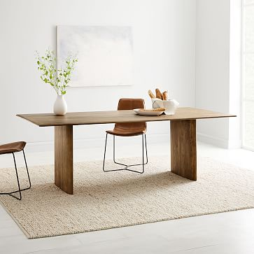 Anton Solid Wood Dining Table In 2020 Wood Dining Table West