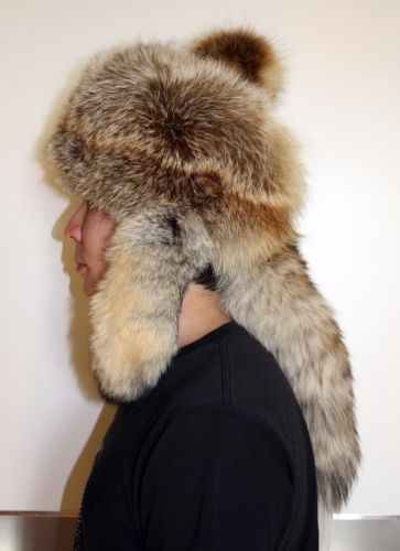Mongolian-Warrior-styled-Fox-fur-hat-with-Fox-tails-All-size-available c2771fb3d3da