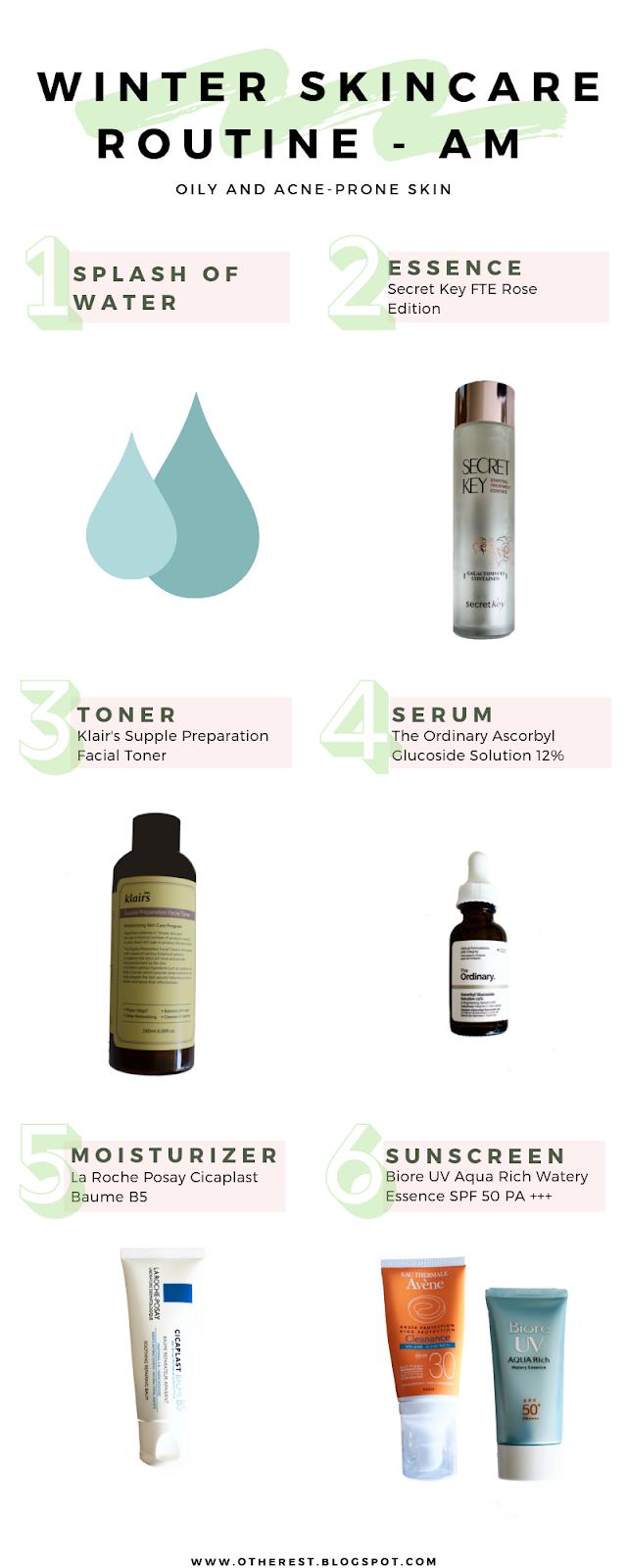 Winter Proof Skincare Routine