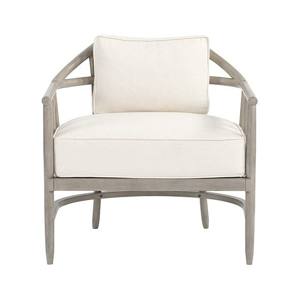 New York Chair | Ballard Designs | living room decor | Pinterest