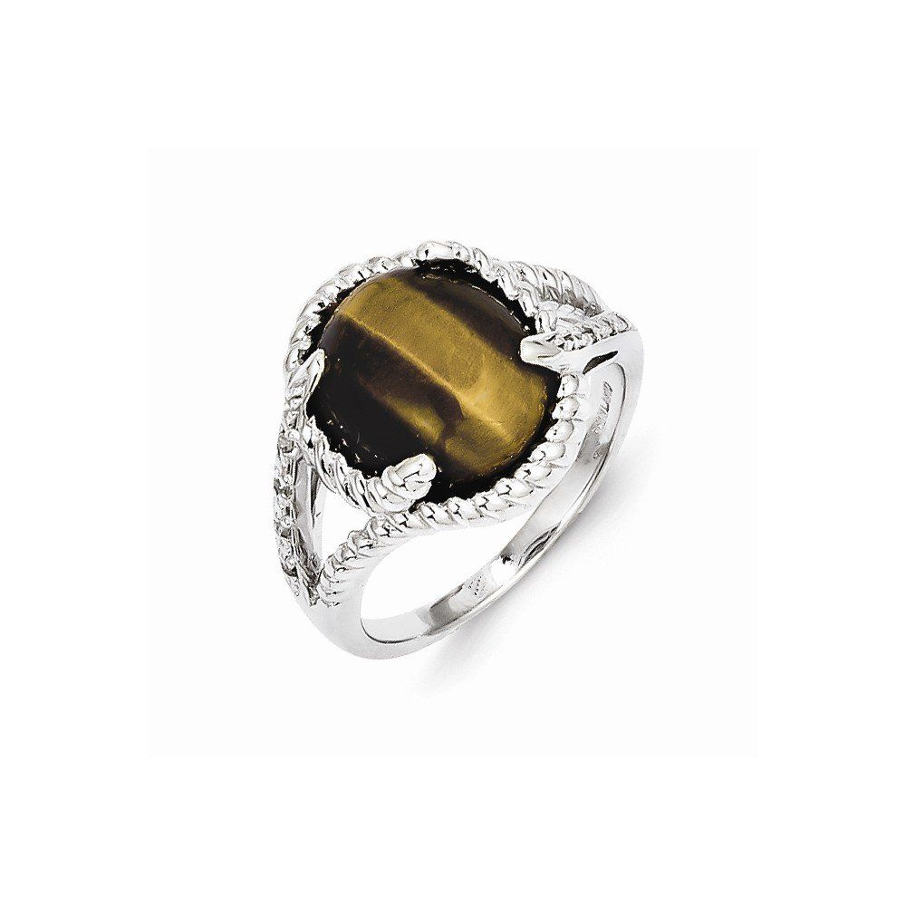 Best Birthday Gift Sterling Silver Tigers Eye Quartz and Diamond Ring. Jewelry Brothers designer gifts. Up to 75% off retail prices. Jewelry items come with a FREE gift box. 21-days money back guarantee. Exceptional customer service.