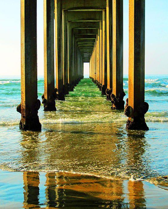 art, ocean, beach, coastal, photography, print, canvas print, beach ...