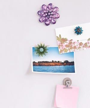 turn brooches into magnets