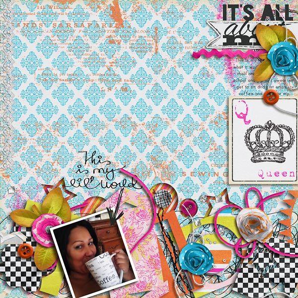 qomw - Scrapbook Scrapbooking Inspiration III Pinterest