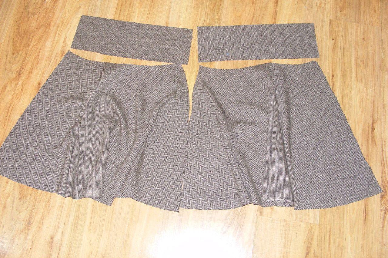 b8998e709d2c Před časem jsem vám slíbila návod na sukni s pevným pasem na zip ...