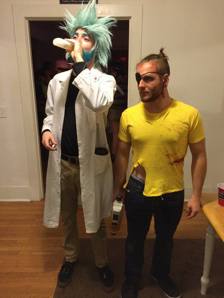 evil rick and morty cosplay pinterest cosplay costumes and