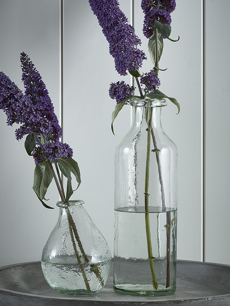 New Tall Recycled Glass Vase Indoor Living Decor Accessories