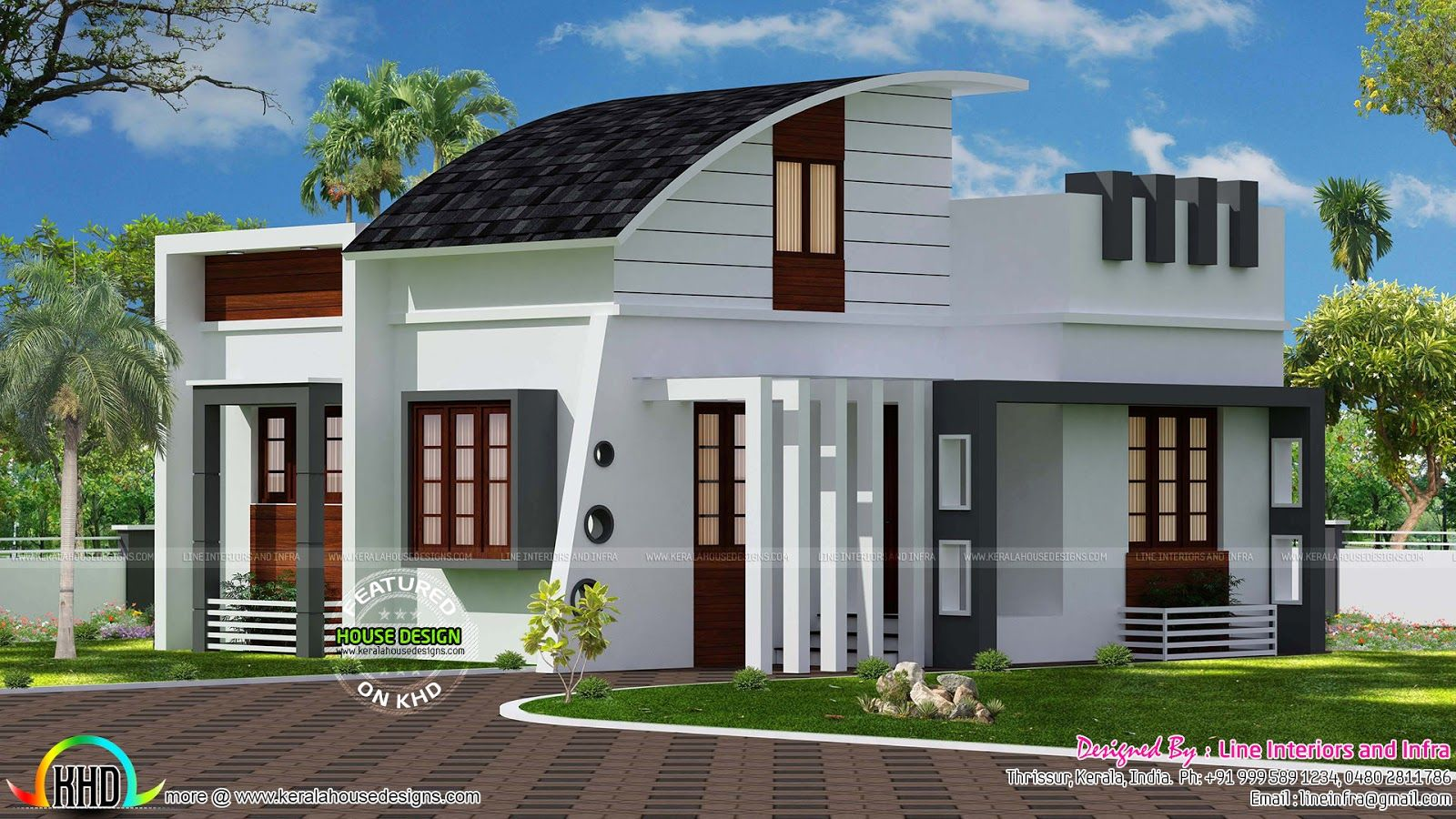 contemporary-single-floor-home.jp (1600×900) | homedesign2 ...