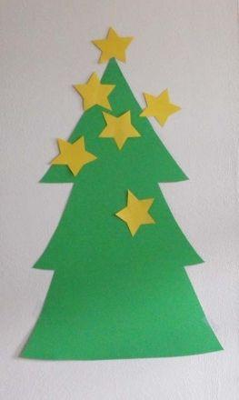 Pin The Star On The Christmas Tree Activity Education Com Preschool Christmas Party Kindergarten Christmas Party Christmas Kindergarten