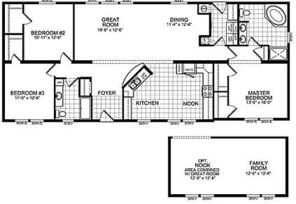 Image detail for -Double Wide Mobile Home Floor Plans | Double Wide Home Cairo NY