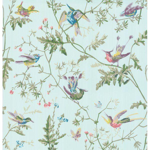 Hummingbirds 33 L x 20.5″ W Wallpaper Roll