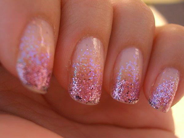 60 Ombre Nail Art Designs Ombre Nails Glitter