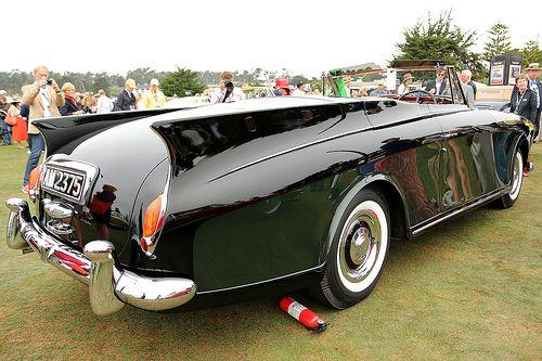Rolls-Royce Silver Cloud Freestone Webb Drophead Coupe 1958