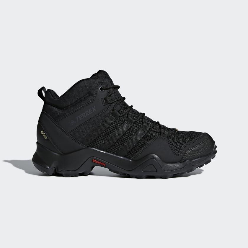 adidas outdoor terrex ax2r mid gtx men's waterproof hiking boots