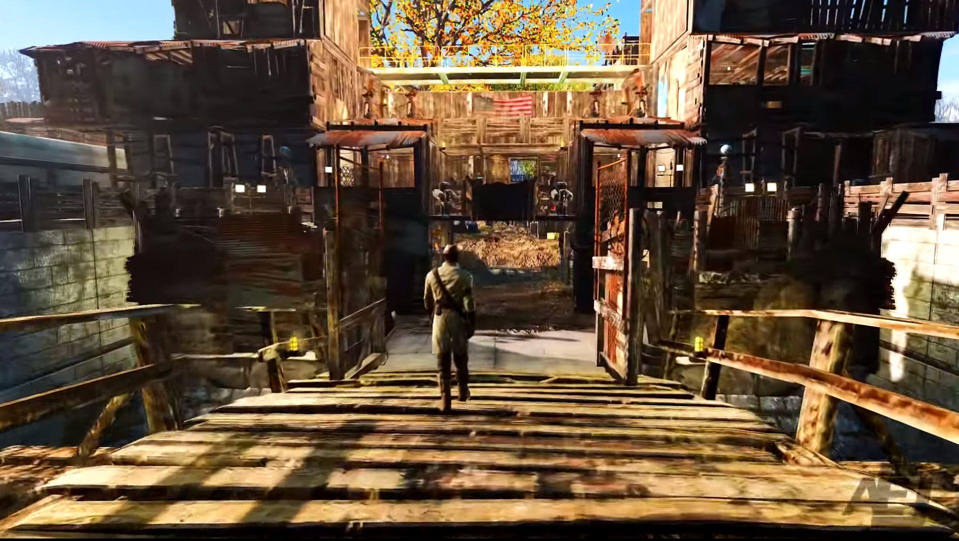 Redemption City Sanctuary Hills Overhaul Fallout 4 Mod
