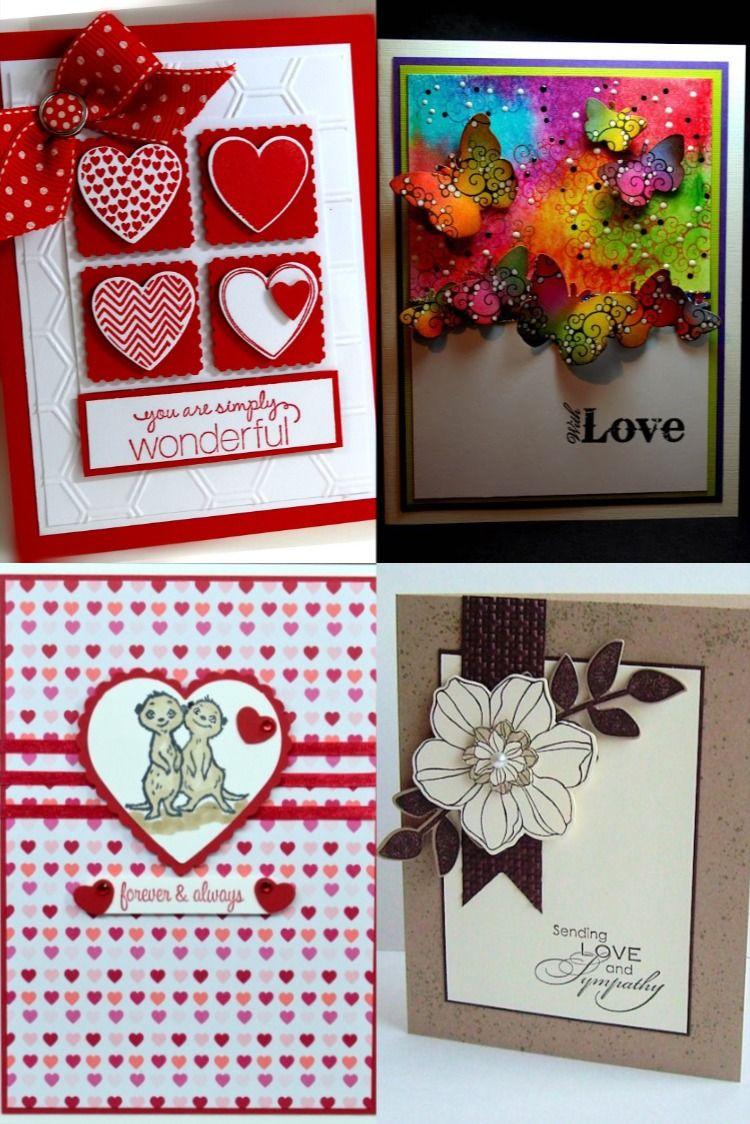 love card handmade design  Cards handmade, Unique greeting cards