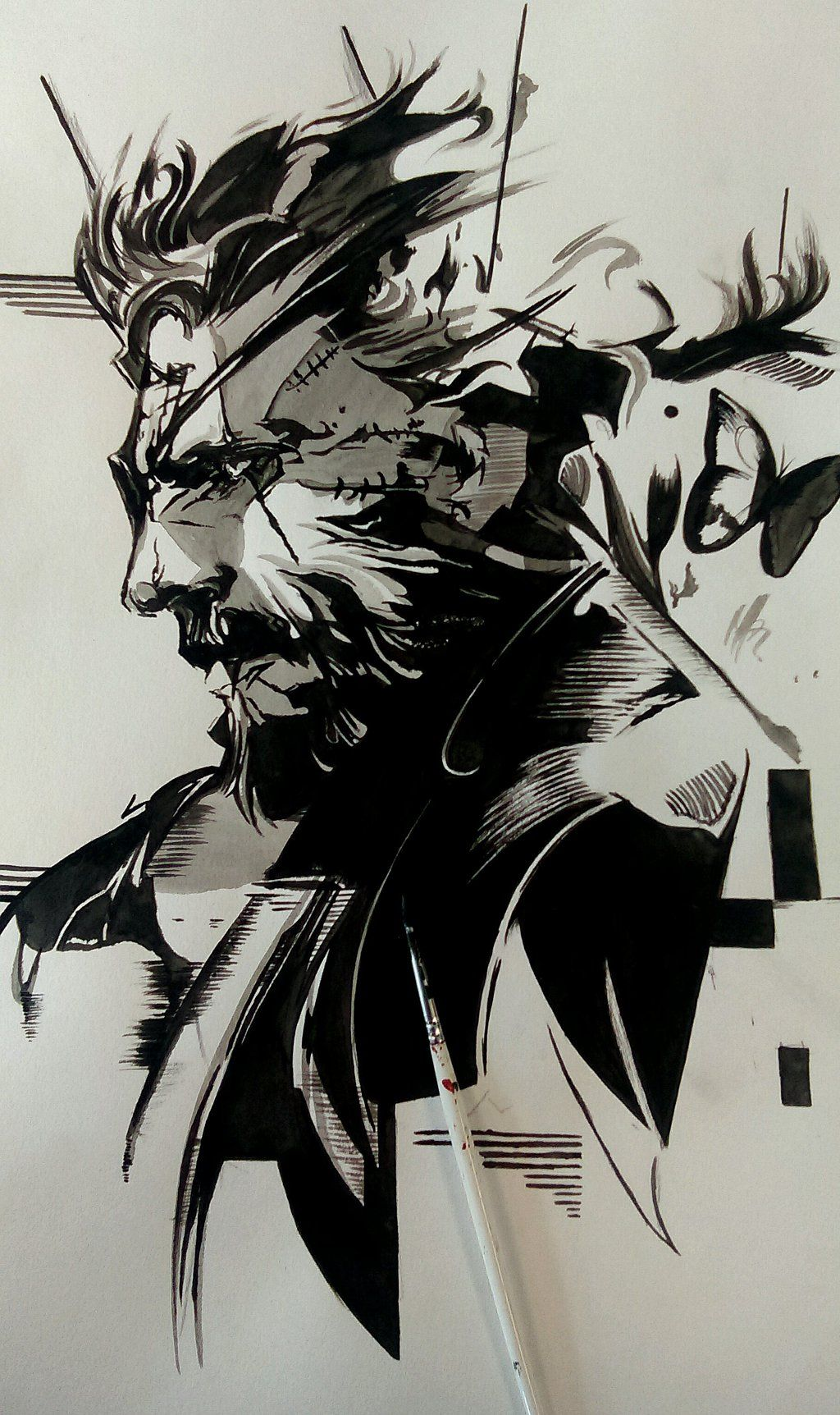 my_a3_ink_poster_of_venom_snake_from_mgs_v_tpp__by_mchorler67-da609zi.jpg (1024×1724)