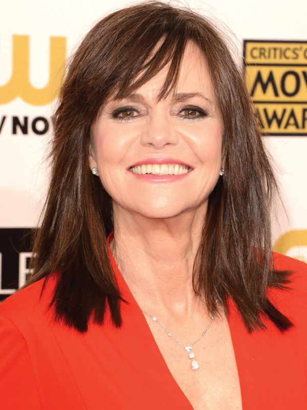 Sally Field with Shoulder Length hair