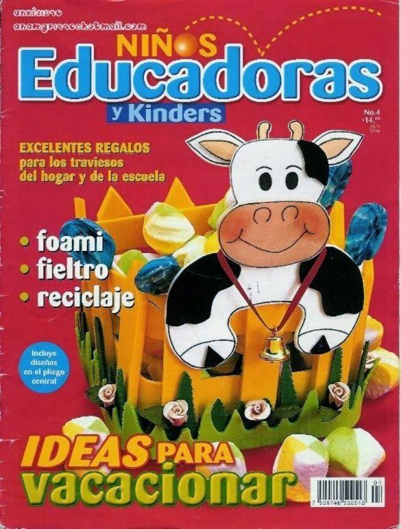 Revista ideas para niños manualidades