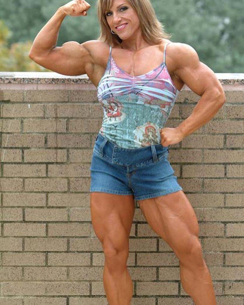 Gina Davis fis bod usa cdo dnv muscle muscular ...