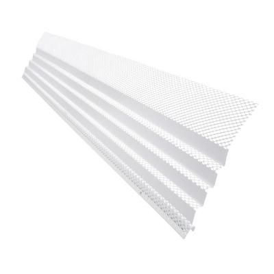 Amerimax Home Products 36 In X 6 In Hinged Unpainted Gutter Guard 85280bx The Home Depot In 2020 Gutter Guard Gutter Hinges
