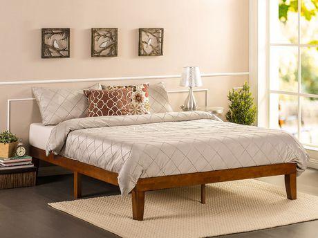 Zinus Solid Wood 12 Platform Bed Mattress Foundation Wood