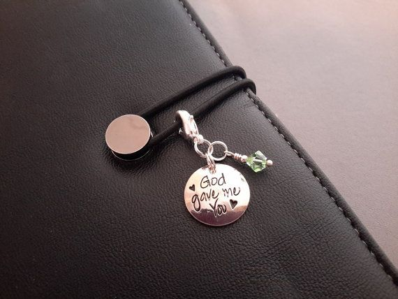 God Gave Me You Zipper Pull Planner Journal by ZipsandMore on Etsy