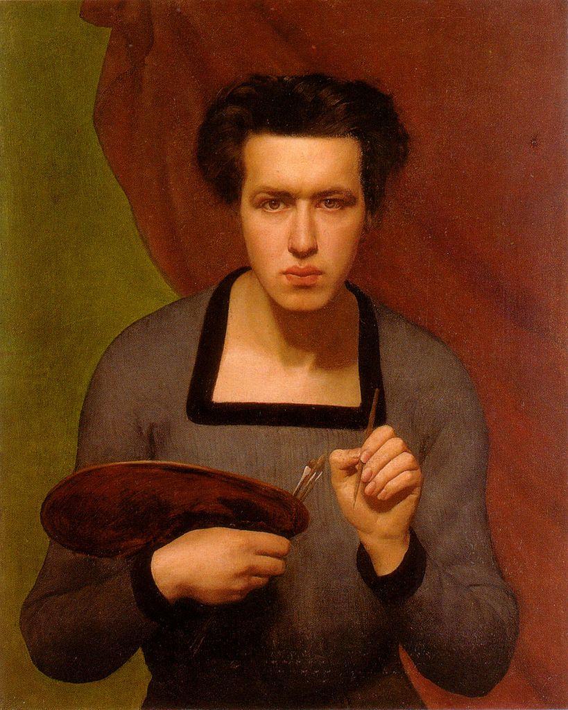 Louis Janmot (French, 1814-1892). Self-portrait, 1832