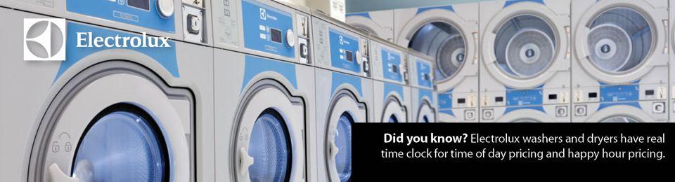 Electrolux Professional Coin Washers Laundrylux Laundry