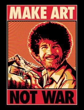Bob Ross Poster 36in x 24in Mistakes