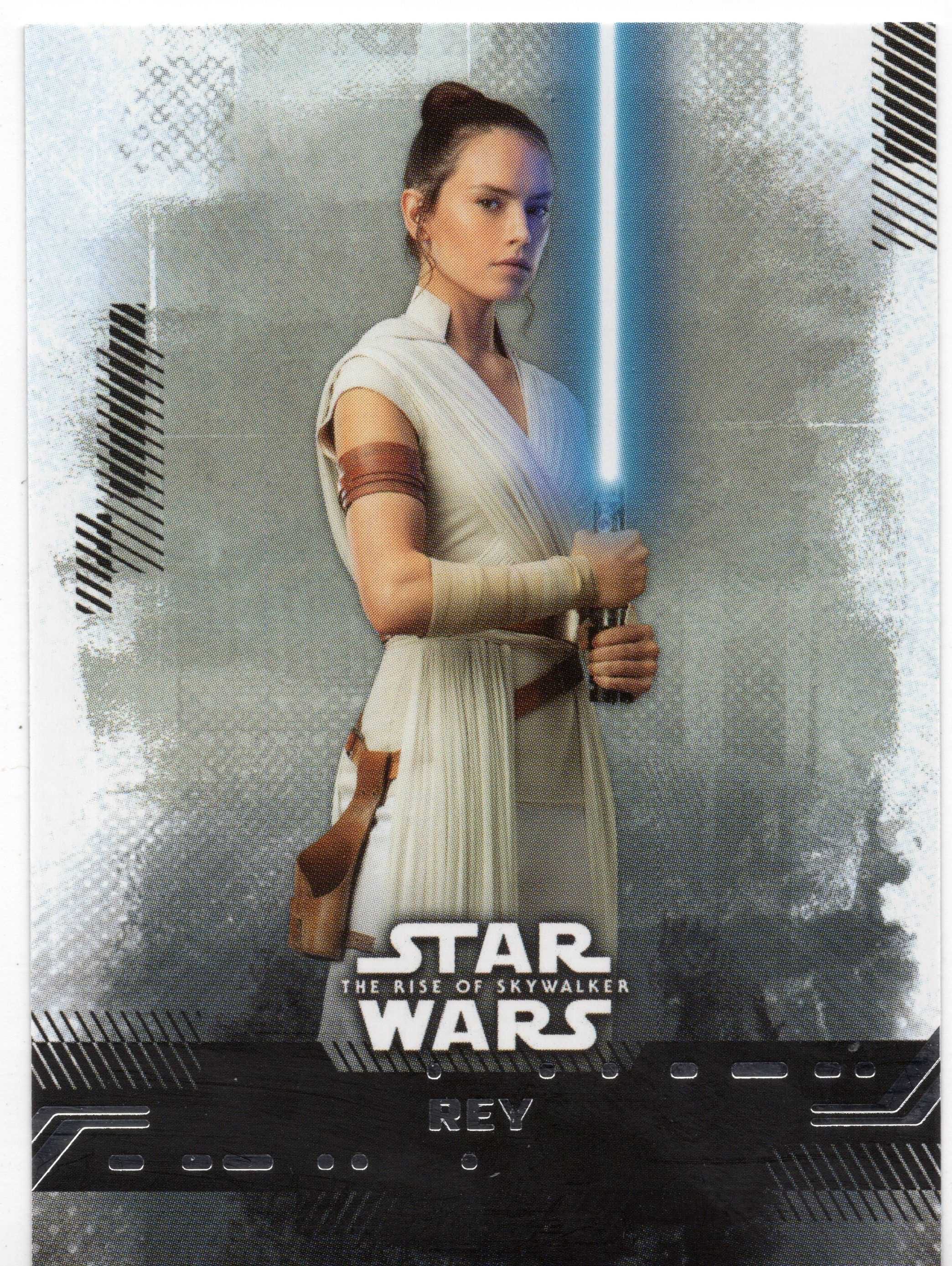 For Sale 2019 Topps Star Wars The Rise Of Skywalker Rey 1 Sw28 Webstore In 2020 Star Wars Star Wars Luke Skywalker Rey Star Wars